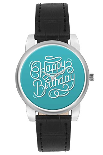 Women's Watch, BigOwl Happy Birthday Designer Analog Wrist Watch For Women - Gifts for her dials
