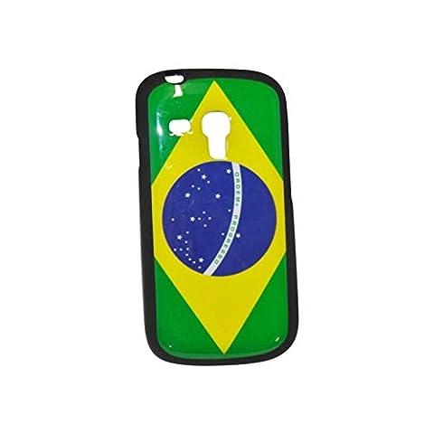 Schutzhülle aus Gel Flagge Brasilien für Samsung Galaxy S3Mini (Ebay Samsung S3 Mini)