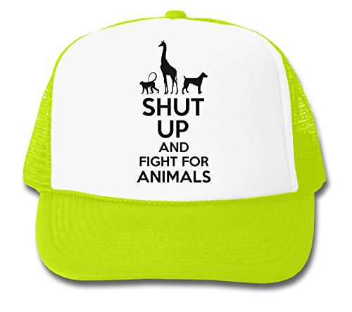 ShutUp and Fight for Animals Trucker Cap