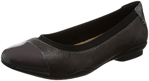 Clarks Zapatos Bailarina Mujer Neenah Garden Dark