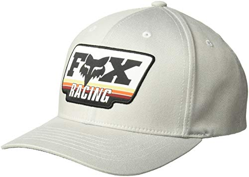 Fox Herren Throwback 110 Snapback HAT Baseball Cap, grau, Einheitsgröße Throwback Hat Cap