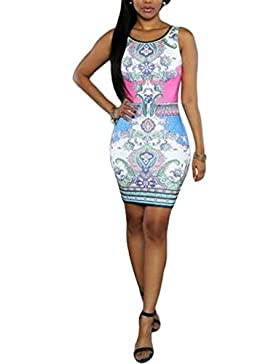 swall owuk Mujer Mode Fiesta Vestido Rock–Botiquín de vestido small