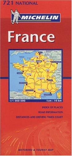 Michelin France Folded Map