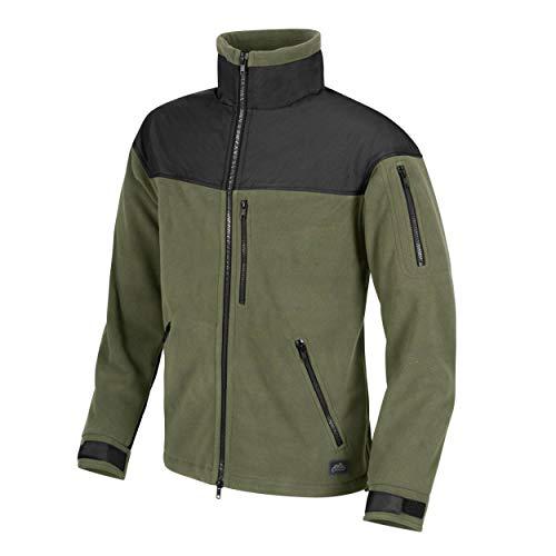 Helikon-Tex Classic Army Jacke -Fleece- Oliv/Schwarz - Fleece Classic Jacke
