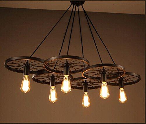 ZQ@QXDesign moderno elegante cucina soggiorno lampadario pranzo Vento vintage industriale