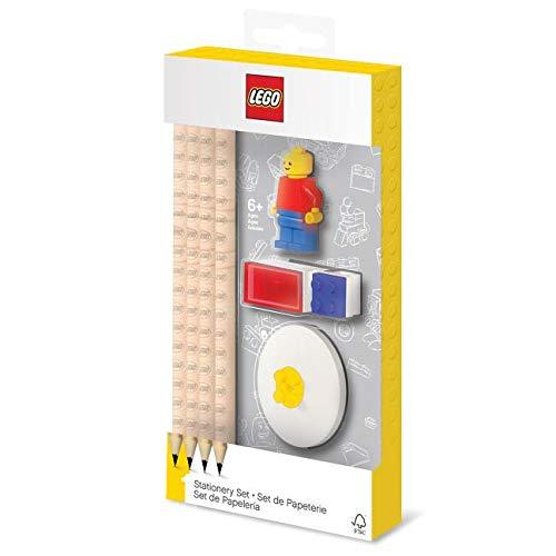 LEGO-Set Figur-8Stück Schreibwaren, lg52053, Mehrfarbig