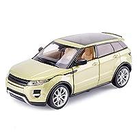 Questa sofisticata vettura per interni ed esterni è perfetta come regalo perfetto per gli appassionati, i bambini e gli amici per divertirsi e soddisfarsi.Modello auto Land Rover Range Rover 1:24 simulazione pressofusione auto giocattolo in lega di s...