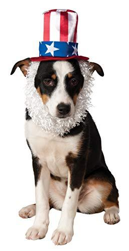 ny Hut mit Bart im Uncle Sam-Stil für Haustiere ()