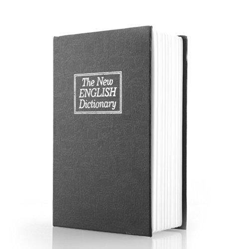 Miryo-Caja fuerte de seguridad con forma de diccionario con texto en inglés 'English dictionnary'