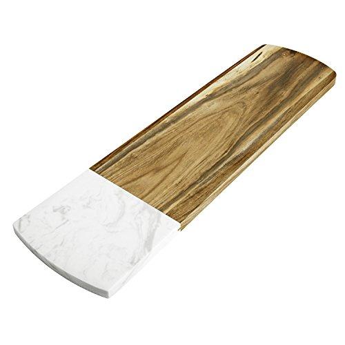 Elfrhino queso Junta versátil mármol madera acacia