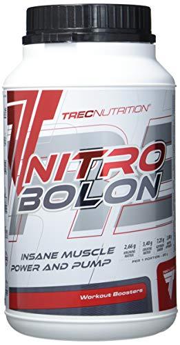 Trec Nutrition Nitrobolon II Muskelaufbau maximierter Fokus und massiver Pump Energy Sport Bodybuilding 1100g Dose -Tropical -