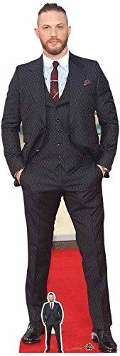 Star Einbauöffnungen LTD Tom Hardy Dapper Anzug und Haarschnitt, Karton, Mehrfarbig, 3x 59x 175cm