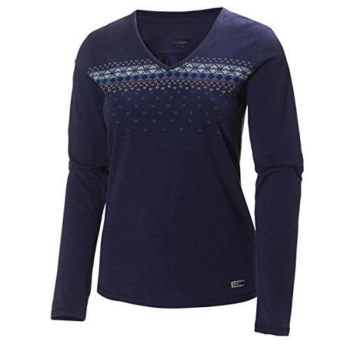 Helly Hansen Mountain Ls W Jersey Maillot pour femme violet
