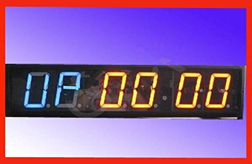 Gowe 10,2cm 6digits LED Digital Uhr Crossfit Gym Intervall Zeit Praxis