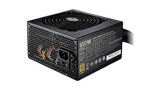 Cooler Master MWE Gold 650 alimentatore per computer 650 W ATX Nero