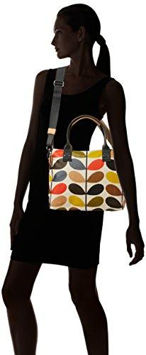 Etc By Orla Kiely Classic Multi Stem Zip Messenger, Sacs bandoulière Femme Multicolore (multi)