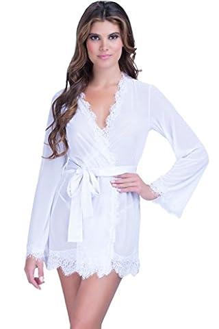 Saphira lingerie. Kimono. Nuisette. Maille . String inclus.