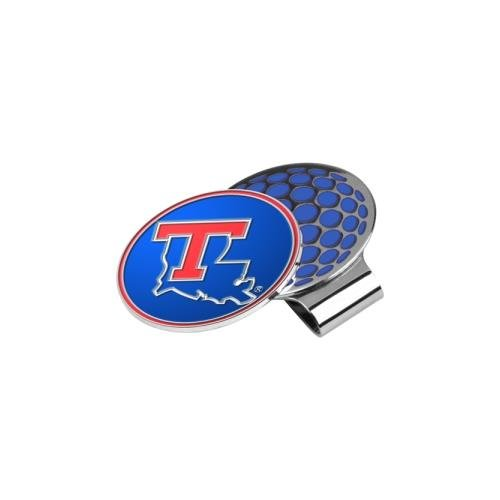 NCAA Louisiana Tech Bulldogs Golf Hat Clip mit Ball Marker Louisiana Tech Bulldogs Golf