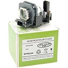 Lámpara de proyector Alda PQ ET-LAX100 para PANASONIC PT-AX100 PT-AX100E PT-AX100U PT-AX200 PT-AX200E PT-AX200U TH-AX100 Proyectores, módulo de la lámpara con la caja