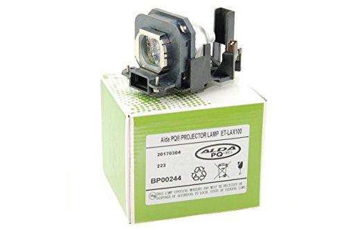 Alda PQ Beamerlampe ET-LAX100 für PANASONIC PT-AX100, PT-AX100E, PT-AX100U, PT-AX200, PT-AX200E, PT-AX200U, TH-AX100 Projektoren, Lampenmodul mit Gehäuse