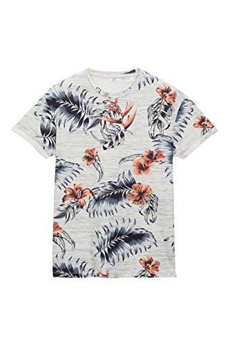next-Hombre-Camiseta-Flores-Tejido-Calidad-Mejorada-Corte-Regular