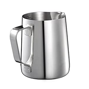 Kendan Stainless Steel Milk Frothing Pitcher Measuring Jug Cup