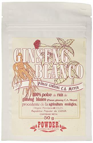 Powder Ginseng Blanco Ecológico en Polvo - 50 gr