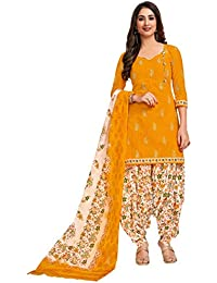 Miraan Women's Cotton Unstitched Patiyala Dress Material (SG118)