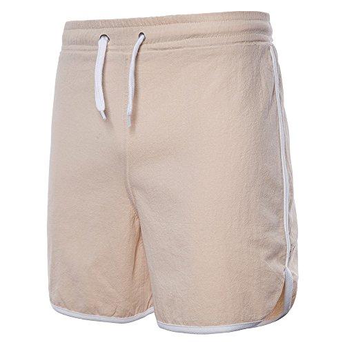 YiYLunneo Sport Herren Shorts Sommer Fitness Laufen Freizeithosen Sweatshorts Bermuda Shorts Trainingsshorts kurz Hose Jogging Shorts