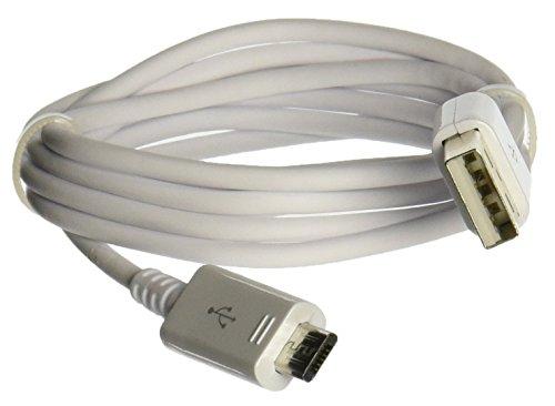 Samsung Datenkabel, Ladekabel, Sync-Kabel, Micro USB 2.0 A auf auf Micro B, für Galaxy S6/ S6Edge/ S6Edge+/ S6Active S5Mini/ S4i9500/ S4, Weiß Samsung Mini Usb