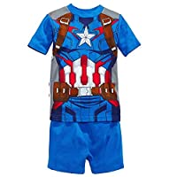 Captain America Pijama Set for Boys Age 2-7 years (6-7 Years)