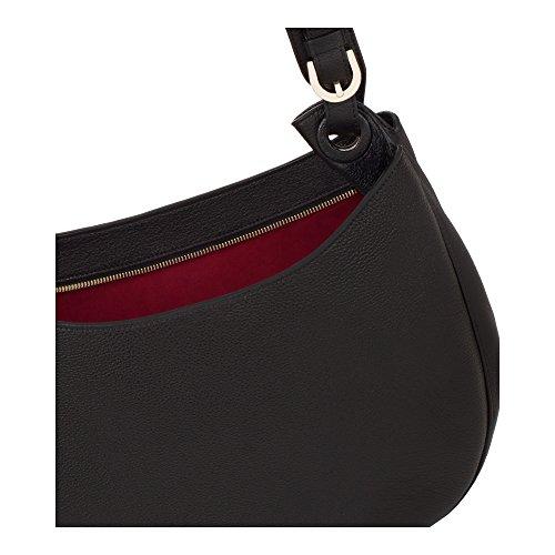 COCCINELLE ELODIE SHOULDER BAG XQ5130101 518 NERO/MERLOT