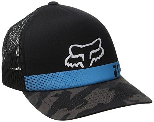 fox-negro-elmond-visera-curvada-flexfit-cap-azul-azul-talla-unica