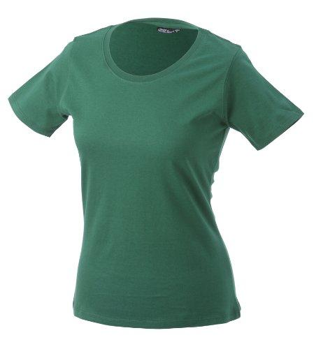 JAMES & NICHOLSON T-shirt Basic - T-shirt de Maternité - Femme Vert (dark-green)