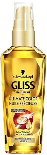 Schwarzkopf Gliss Huile de Soin Précieuse Ultimate Color Flacon de 75 ml