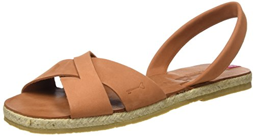 Titi Couture Women's Classic High Platform Sandals, ( /Paprika /Paprika)