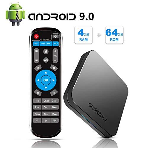 Sidiwen Android 9.0 TV Box KM9 4GB RAM 64GB ROM Amlogic...