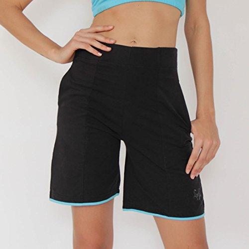 cbe2411dda3c3 Prancing Leopard   lungo da donna Yoga e Pilates Shorts Merv in cotone  biologico
