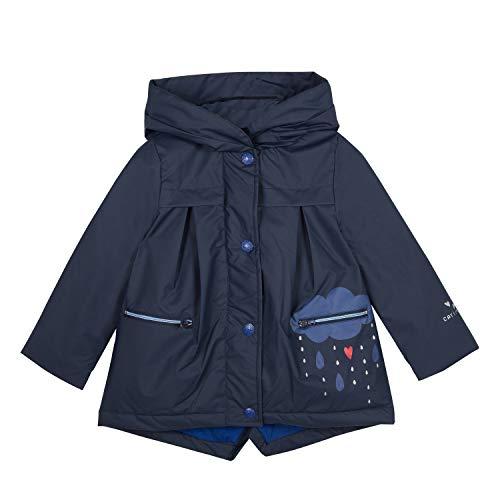 Catimini Girls Parka Gomme Pour Raincoat