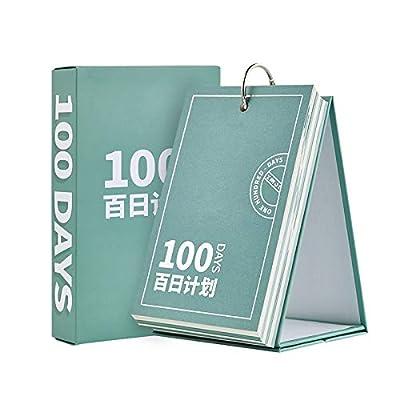 SMAQZ Cuenta Atrás Plan De Escritorio De 100 Días Calendario Calendario Nuevo Pequeño de SMAQZ