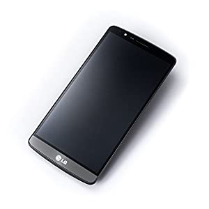 ORIGINAL LG Optimus G3 D855 titanium schwarz Display Touchscreen Rahmen + Werkzeug GRATIS