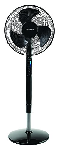 "Honeywell Advanced Quietset with Noise Reduction Technology 16"" Whole Room Pedestal Fan"