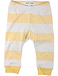 Small Rags bébé unisexe, pantalon imprimé / jogging, 100% coton, beige/jaune à rayures, 60084, Taille 98