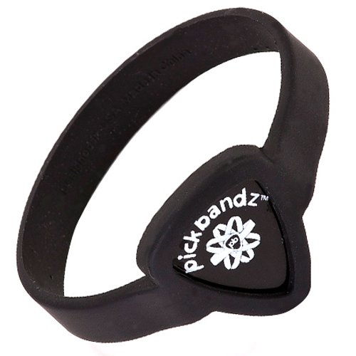 Pickbandz Wristband Silicone Pick Holder - Epic Black