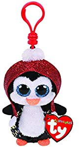 Ty 35315 Gale Penguin Flippable Clip Navidad 2019, Multicolor