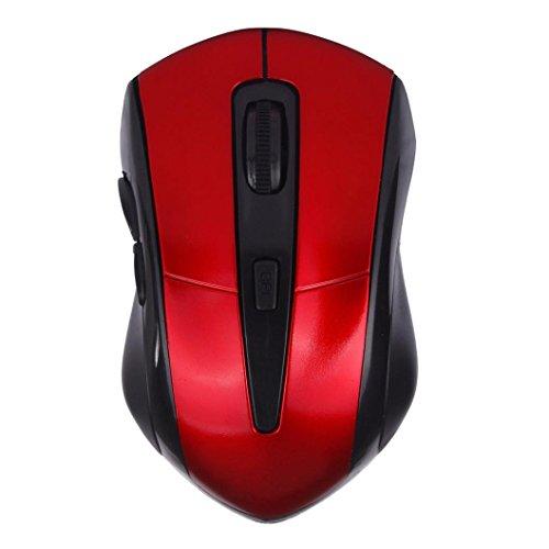 WINWINTOM Einstellbare 1600dpi 2.4G optische drahtlose Mäusemäuse für Laptop (Mausefalle Kostüm Brettspiel)