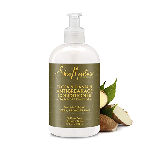 Shea Feuchtigkeit Yucca und plantiain Anti-Haarbruch-Stärkung Conditioner 355ml