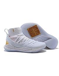 UnderArmour UA Curry 5 White Men's Basketball Shoes