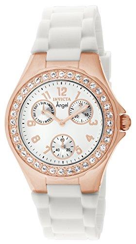 Invicta Damen-Armbanduhr Analog Quarz Silikon - Bands Invicta Silikon Watch