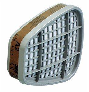 Preisvergleich Produktbild 3M - Aktiv Filterpatronen A2 06915 (2 Pa. / 4 Stück)